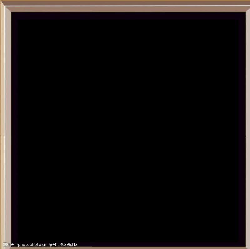 立体相框元素PNG图片