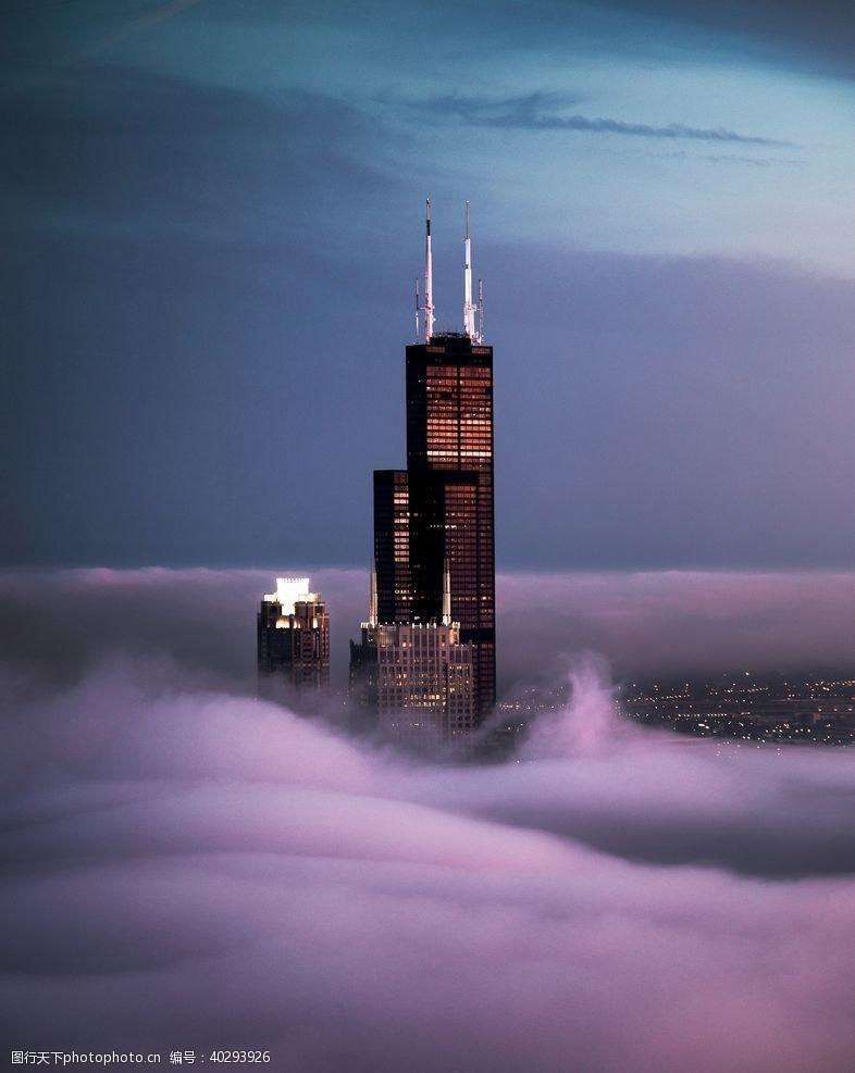建筑园林摩天楼图片