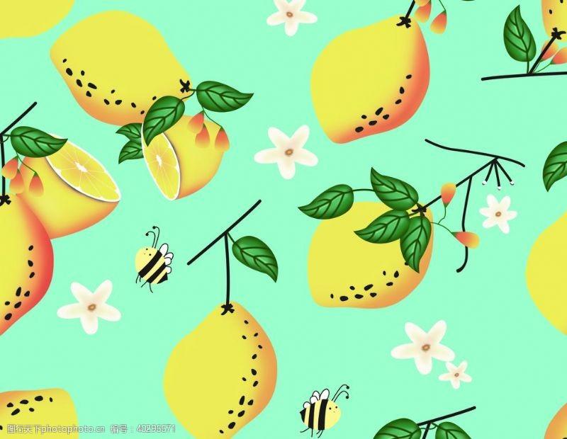 花柠檬图片
