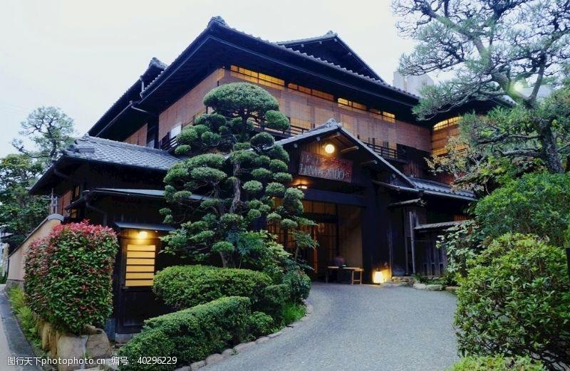 建筑日式楼房图片