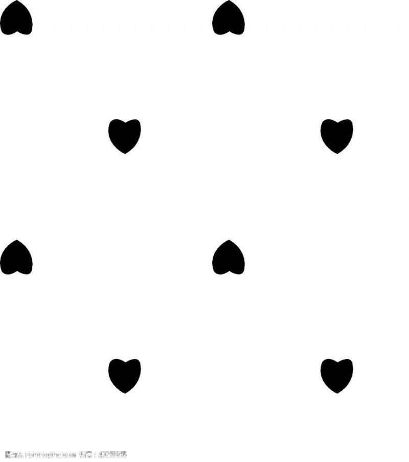 线条心图片